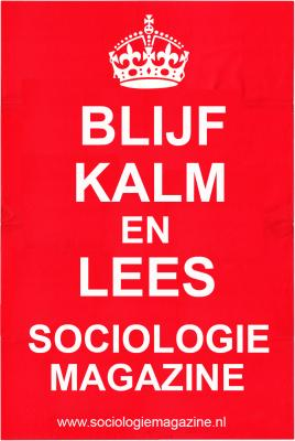 Blijf kalm en lees Sociologie Magazine